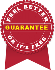 Feel Better or It's Free Guarantee