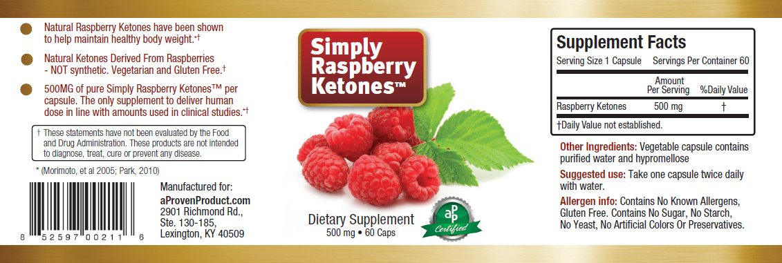 Simply Raspberry Ketones